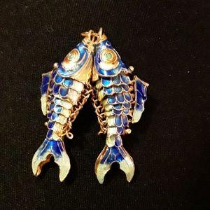 Jewelry - Vintage koi pendant